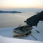 Santorini Sunset by dimpdhab