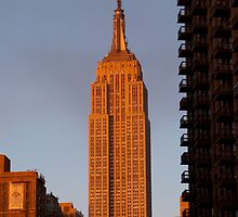 Empire State Building, NYC by Henri Irizarri