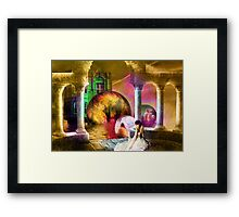 Lament of the Time Traveler's Woman Framed Print
