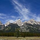 The Grand Teton Range by Jon Rista