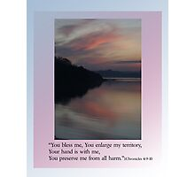 JABEZ's Prayer Photographic Print