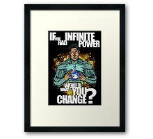 Infinite Power Framed Print