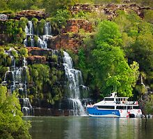 King's Cascade, Kimberley Coast  by Tim Wootton