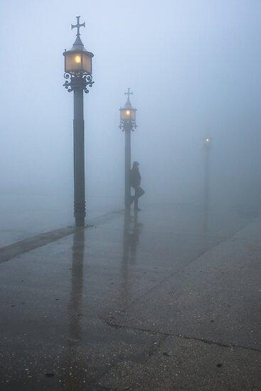 Mist in Montserrat by Joop Snijder