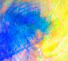 Blue Glass Splash by njordphoto