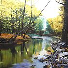 Agawamuck Creek by Kenneth Young