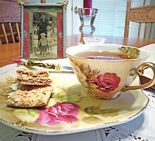 """""""A Cup Of Tea With Family Memories"""" by franticflagwave"""