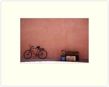 Bike, Marrakech, Morocco by PaulineC
