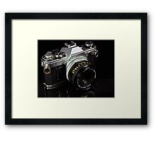 The King of 35mm - Canon AE-1 Framed Print