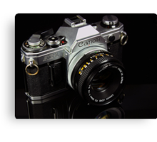 The King of 35mm - Canon AE-1 Canvas Print