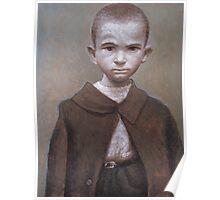 Portrait of a poor boy Poster
