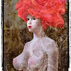 Goddess with a rose hat. (2) by ipalbus-art