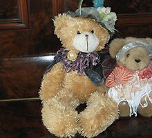 Auntie Teddy & Showbiz Hopeful Niece. by Mywildscapepics