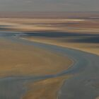The colours of Lake Eyre by Andrew Mather
