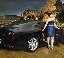 Lady Ferrari 1 by Didit  Anindita
