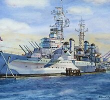 HMS Belfast by Hopebaby