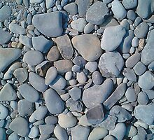 ROCKS ON LAKE MICHIGAN by BonaParte