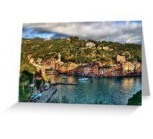 Portofino Paint  two Greeting Card