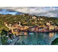 Portofino Paint  two Photographic Print