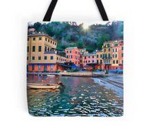 Portofino paint three Tote Bag