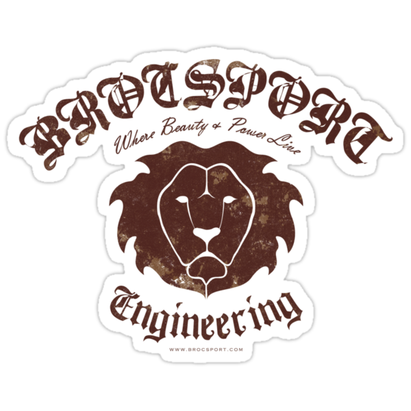 BROCSPORT Engineering - Brutis Tee by eLEkt