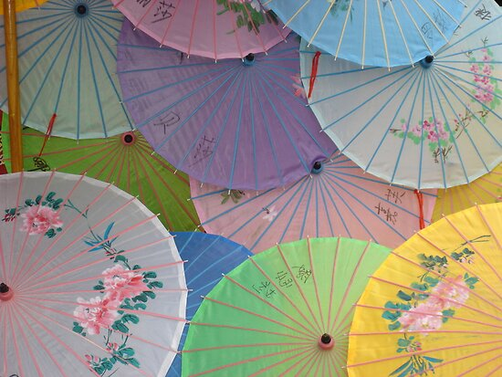 Asian Umbrellas 2 by bmwlego