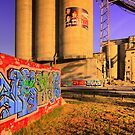 Cement works 4 - Geelong by Hans Kawitzki