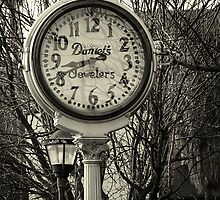 Clock in Downtown Tucson by WiredMarys