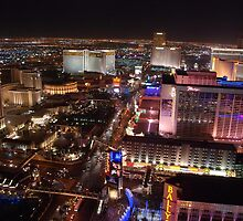 The Strip North - Las Vegas NV by John Schneider