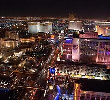 The Strip North - Las Vegas NV by John Schneider