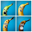 The Four Ages of Bananahood (2x2) by bitrot