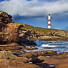 Tarbat Ness Lighthouse by John Ellis
