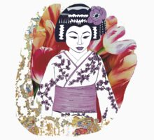 Kyoto Girl Geisha Tshirt! by signaturelaurel