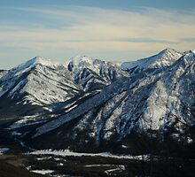 On top of the World - Nakiska, Alberta, Canada by Jennifer Mendieta