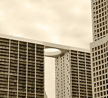 downtown Miami by carlosporto