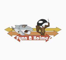 Fynn and Holmes by brad davis
