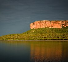 Python Cliffs. Kimberley Coast. by Tim Wootton