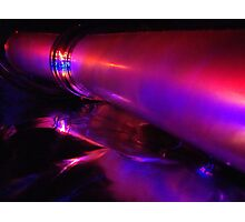 a rush of neon Photographic Print