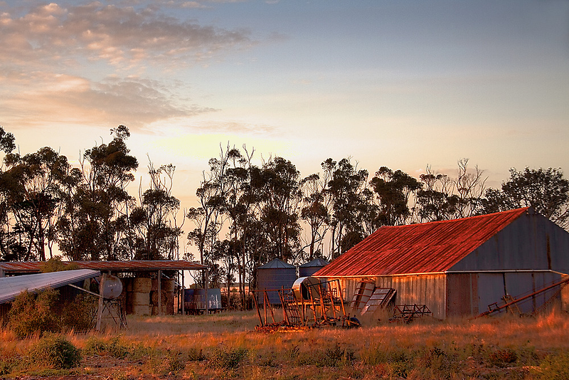 The sheds by Lynden