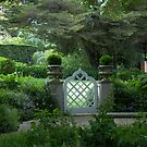 Garden gate at Kennerton Green, near Bowral, NSW by BronReid