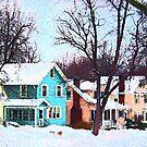 Street After Snow by Susan Savad