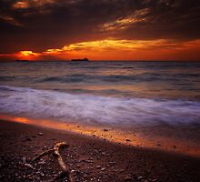At The Shore By The Sea by Tony Elieh