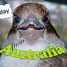 Kookaburra G'day by Dwayne Madden