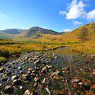 Glenlosh Valley. Connemara. Ireland by EUNAN SWEENEY