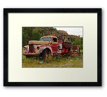Mining equipment II Framed Print