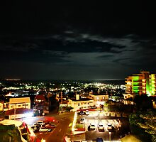 Okinawa Japan Cityscape by Dale Frazier