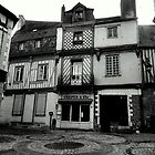 historic downcenter of Laval  by Franlaval
