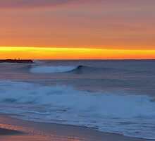 Garie Beach Sunrise by Graham Grocott