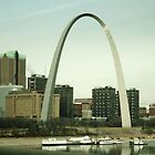 The Arch in St. Louis, Missouri by Susan Russell