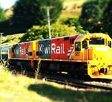 Kiwi Rail - The Dairy Train by Bryony Griffiths